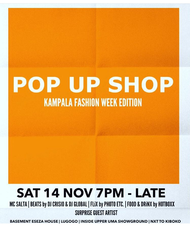 popup shop kampala fashion week 2015