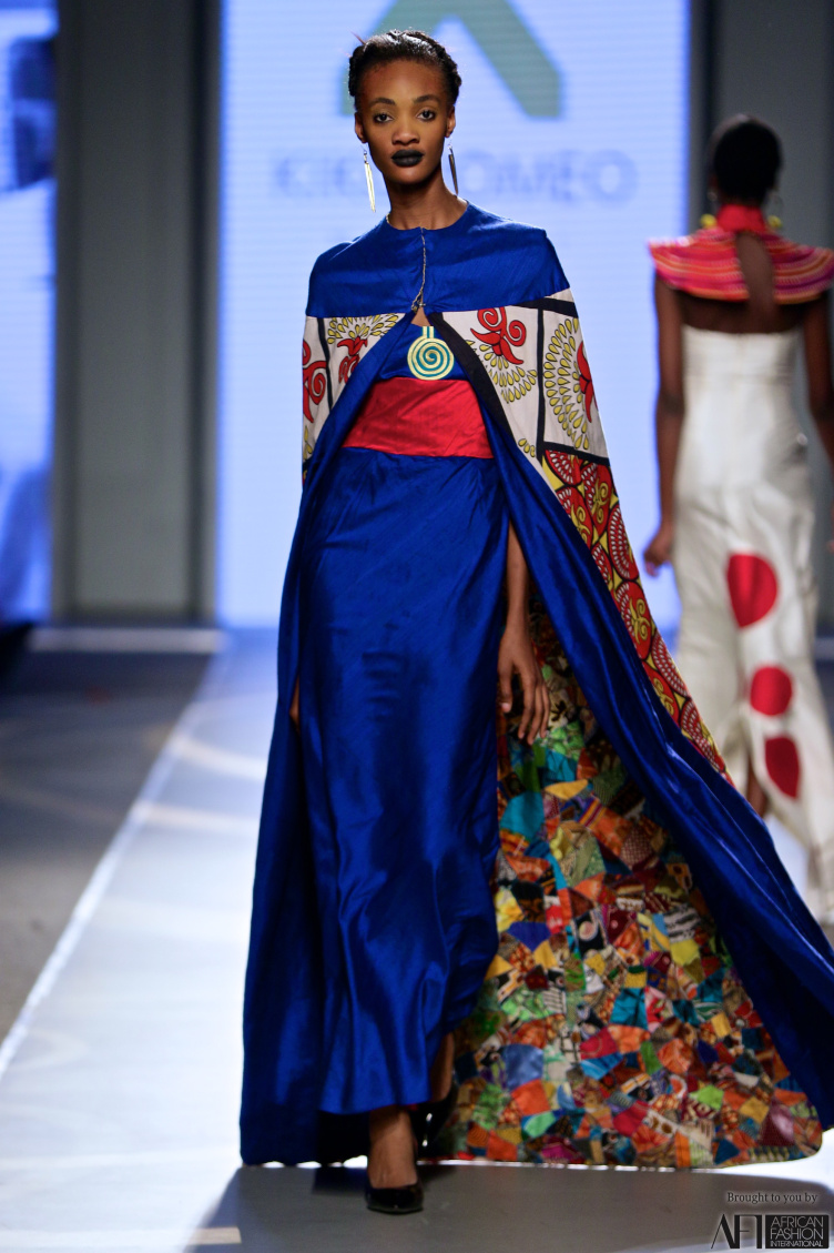 Kiki Romeo Couture D'Afrique LeStylists