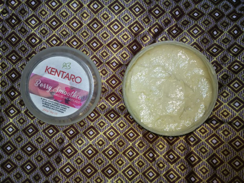 Kentaro Berry Smoothie (Hibiscus and Avocado)