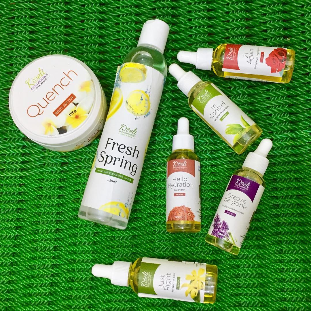 Kweli Skin Organics Products