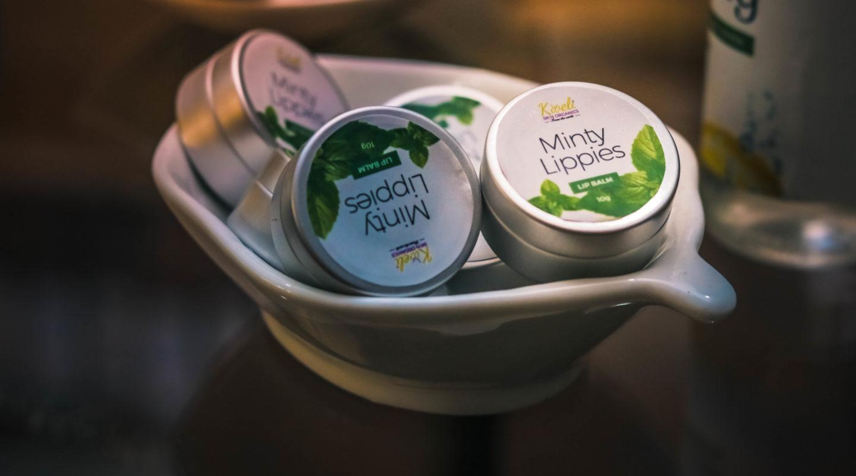 Kweli Skin Organics Minty Lippies