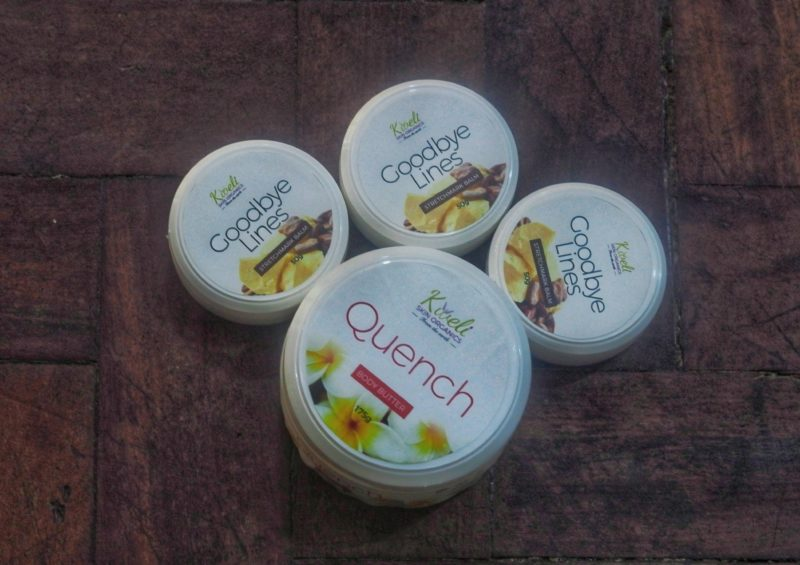 Kweli Skin Organics Quench Butter and Goodbye Lines Stretchmark Balm