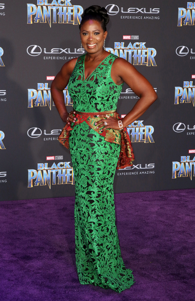 Sope Aluko Premiere of Black Panther